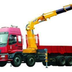 12 Ton Knuckle Boom Truck Mounted Crane