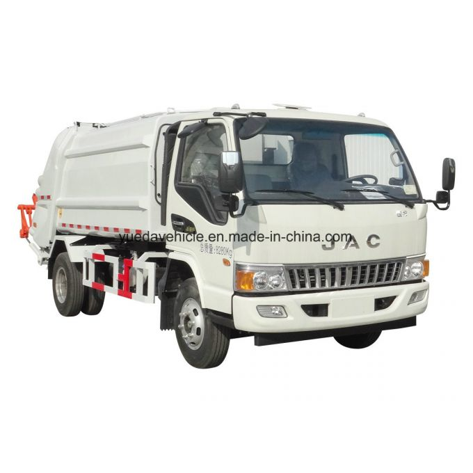 Low Price Compression Garbage Truck