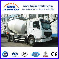 China Brand 3-16m3 Concrete Mixer Semi Trailer