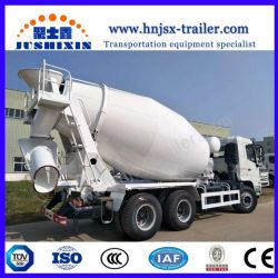 China Brand HOWO/JAC/Dongfeng Chassis 8-14m3 Concrete Mixer Truck