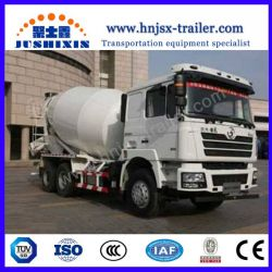 Construction Machinery with Shacman 6X4 10m3 Mixer Truck