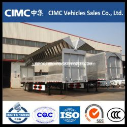 Cimc 13m 3 Axle Wing Opening Van Trailer for Sale