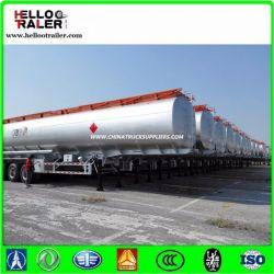 50000L 3 Axle Fuel Tanker Semi-Trailer Carbon Steel Oil Tank Truck Trailer