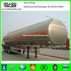 3 Axle Stainless Steel Fuel Tanker Truck Trailer
