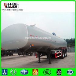 Certificated Al5454 42000 Liters Carbon Fuel Tanker Trailer