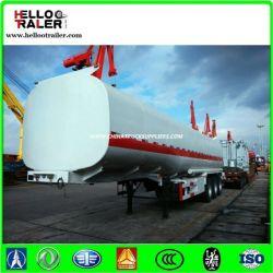 Best Selling in Dubai 40cbm Oil Tanker Semi Trailer