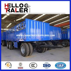 China Trailer Factory Tri Axle Full Trailer