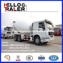 HOWO 10cbm 6X4 Concrete Mixer Truck for Africa