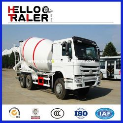 6X4 10m3 Sinotruk HOWO Mixer Concrete Truck