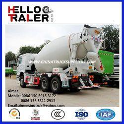 China 6X4 12m3 Mixer Cement Truck/ 10m3 Concrete Mixer Truck