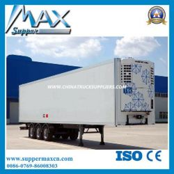 3 Axles Refrigerated Semi Trailer Truck
