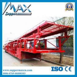 China Brand Supper Max 3 Axles Car Carrier Trailer