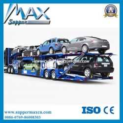 Best Selling 3 Axles Car Carrier Transport Truck Trailer for Sale