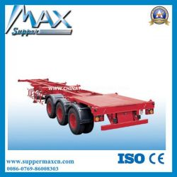 Tri-Axle Skeleton Semi Trailer Use