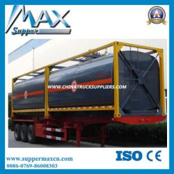 40FT ISO Oil Tank Container 40FT Liquid Chemical/Fuel Tank Container