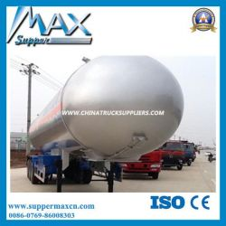 Nigerian 50000liters LPG Cooking Gas Tanker for Sale
