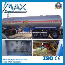 2016 The Best 60cbm 3-Axle LPG Tanker Semi Trailer Truck for Sale