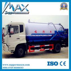 2016 Hot Sale Dongfeng 4X2 8cbm Vacuum Sewage Suction Truck