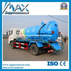 Sinotruk Light Sewage Suction Truck with Small Engine