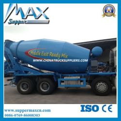 Shacman 336HP 9 Cubic Meters Concrete Mixer Truck for Beru