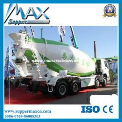 Shacman Truck for UAE 336HP 9 Cubic Meters Concrete Mixer Truck