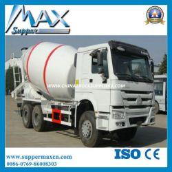 Sinotruk HOWO 8X4 380HP 12m3 Concrete Mixer Truck Dimension