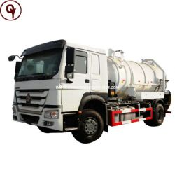 High Quality Low Price Sinotruk HOWO 290 HP Fuel Tank Truck fo