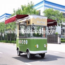 High Quality Mobile Restaurant Truck Fast Food Van for Sale wi