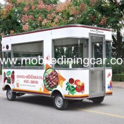 China Weifang Factory Price Electric Mobile Food Bus