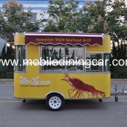 New Arrival Mobile Food Truck with Different Catering Equipment