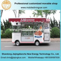 Baking Food Truck/Food Cart with Beautiful Awning and Shelter