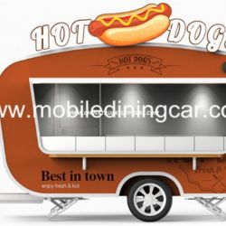New Arrival Outdoor Mobile Food Trailer/ Street Mobile Food Cart