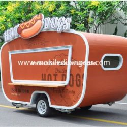 High Quality Mobile Food Trailer for Sale (CE)