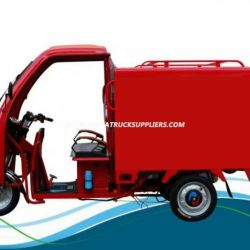Hot Sale 850W 48V Tricycle with Closed Body for Express