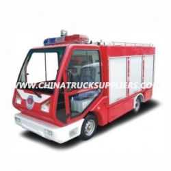 Electric Fire Truck, 1.3 M3 Water Tank, for Fire Fighting