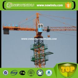 T6513f-8 Chassis Flat Top Tower Crane