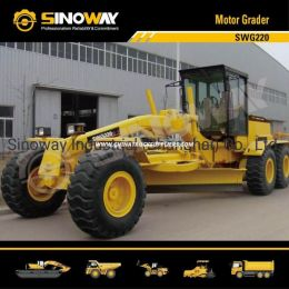 16.5ton Motor Grader with 220HP Cummins Engine for Earthmoving Proje