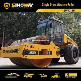 Sinoway 16 Ton Hydraulic Soil Compactor with Cummins Engine