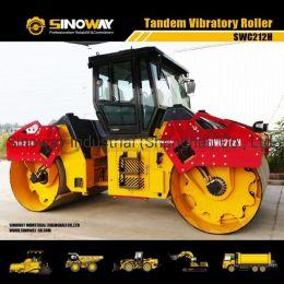 12 Ton Tandem Vibratory Roller, Double Drum Vibratory Road Roller