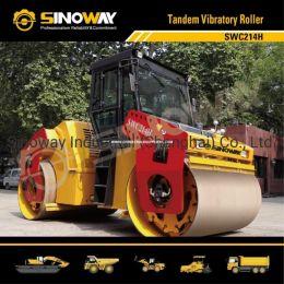 Sinoway 14 Ton Hydraulic Tandem Vibratory Roller/Road Construction Machinery
