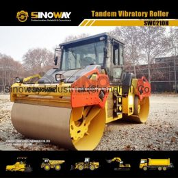 10 Ton Tandem Vibratory Roller/ Hydrostatic Transmission Road Roller