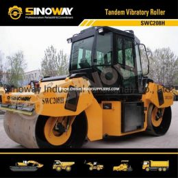 8 Ton Tandem Vibratory Road Roller with Cummins Engine (SWC208