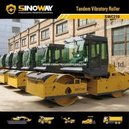 12ton Tandem Vibratory Roller with Cummins Engine/Road Building Mach