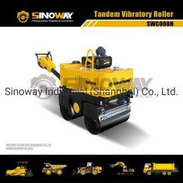880 Kg Walk Behind Vibratory Roller, Road Building machinery