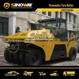 30 Ton Sinoway Rubber Tyre Roller, Pneumatic Tire Roller