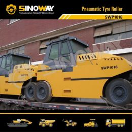 10-16ton Pneumatic Roller, Rubber Tire Roller/ Road Building Machinery
