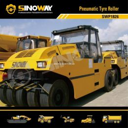 18ton Rubber Tyre Roller / Pneumatic Tire Roller Fro Road Construction