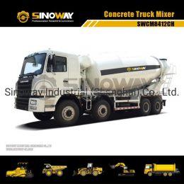 12m3 Concrete Mixer Truck with 375HP Cummins Engine