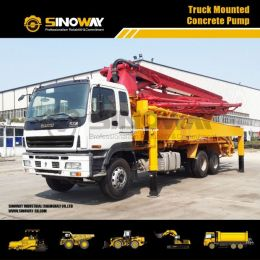 39 M Concrete Pump Truck, Truck Mounted Concrete Truck