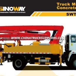 23 M Truck Mounted Concrete Pump with 4X2 Drive